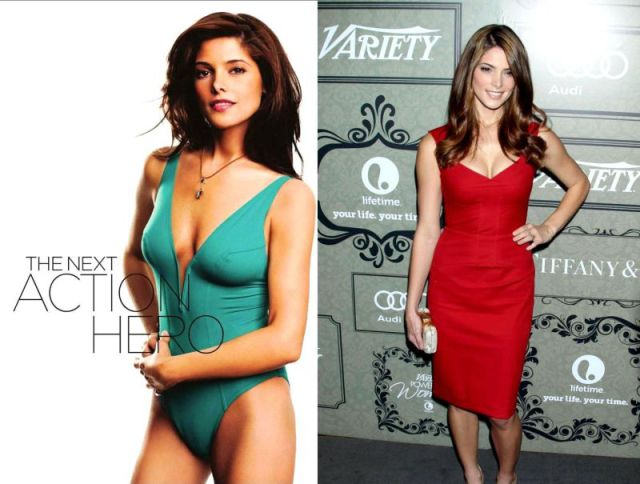 Celebrities Rock Plunging Necklines