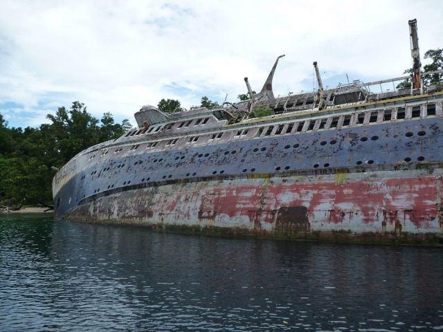Forgotten Cruise Ship Is Now a Popular Tourist Destination