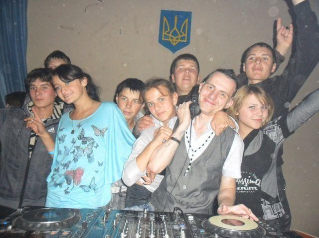 Striptease at the Ukrainian Middle School Dance Party