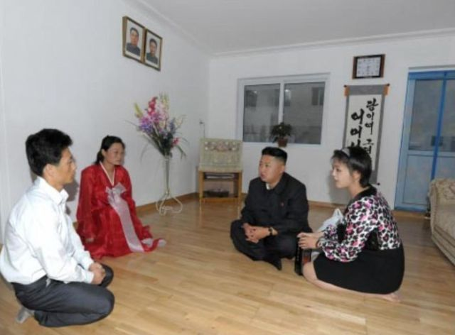 Photos of Modern, North Korean Apartments Used as Propaganda