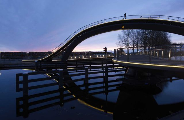 This High, Pedestrian Bridge Offers Spectacular Views