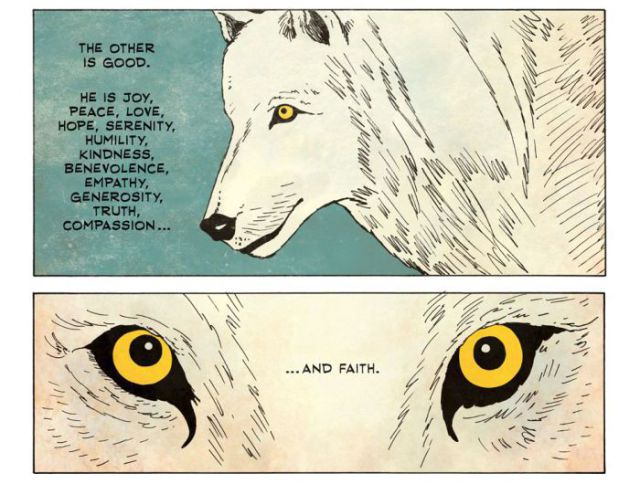 A Life Lesson: The Tale of Two Wolves
