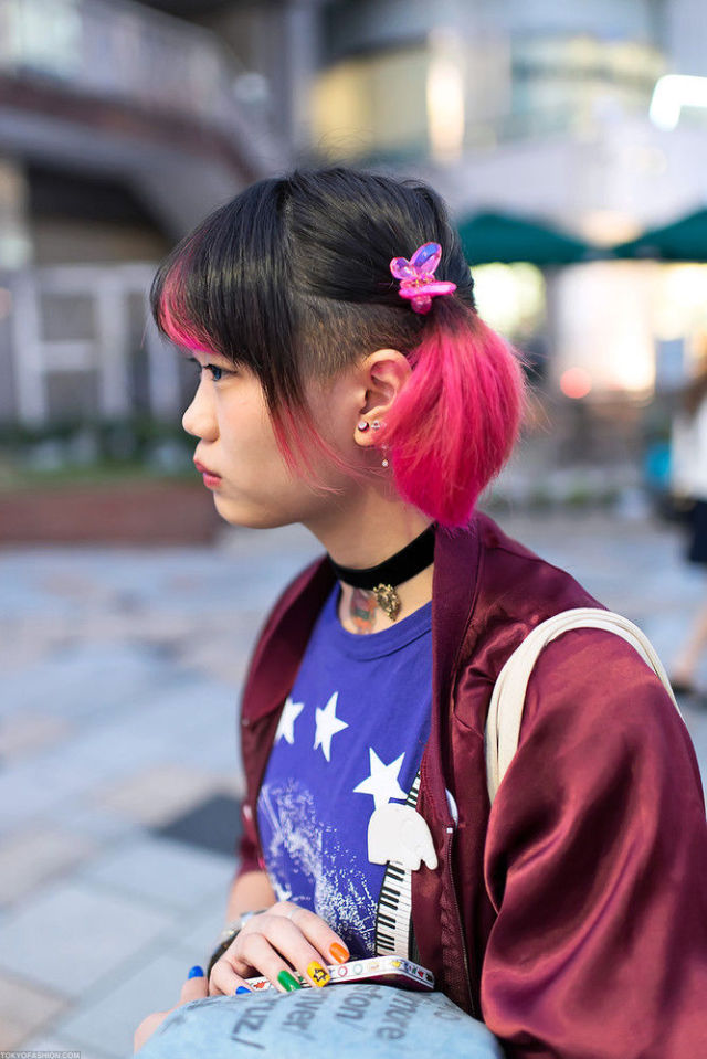 Fashion on the Streets of Tokyo