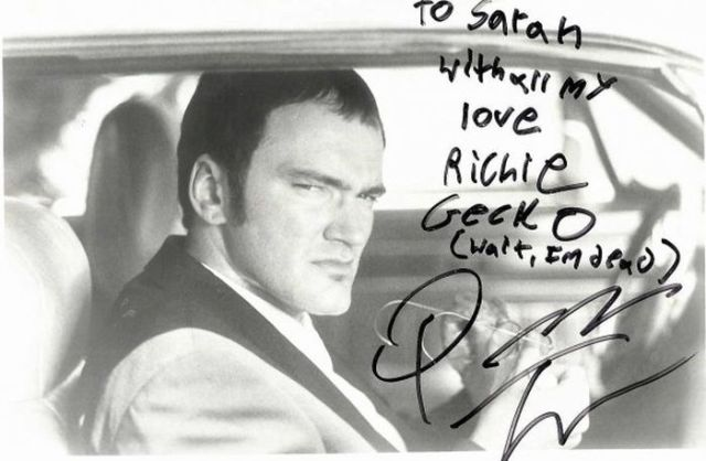 Tarantino's Letter to a 13 Year Old Girl