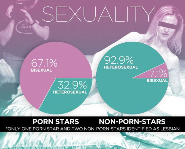 The Differences Between Porn Stars and the Rest of Us