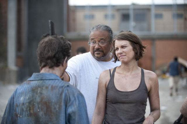 "A Look Behind-the-scenes of ""The Walking Dead"""