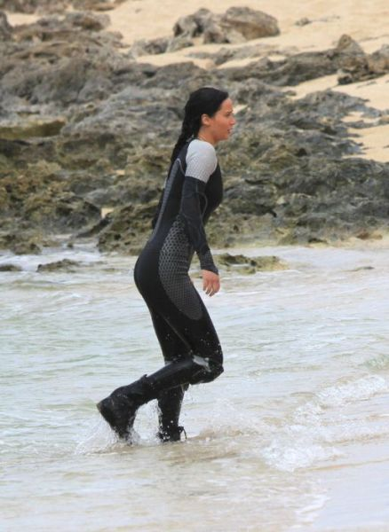"Action Shots from the Making of ""The Hunger Games: Catching Fire"""