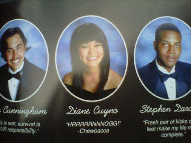 Classic Yearbook Photo Moments