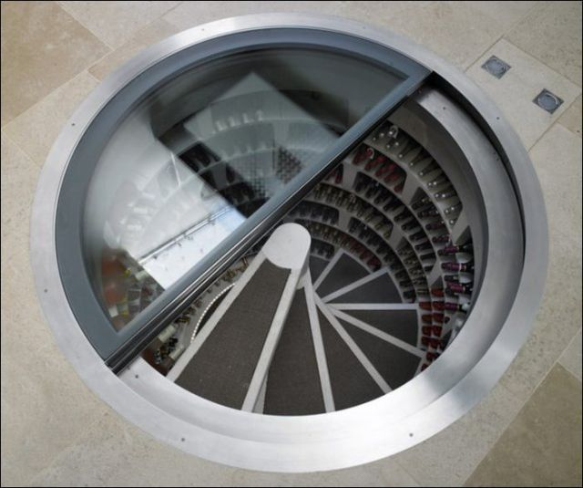 A State-of-the-art 21st Century Wine Cellar