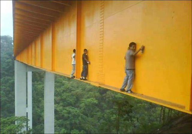 Graffiti Art as an Extreme Sport
