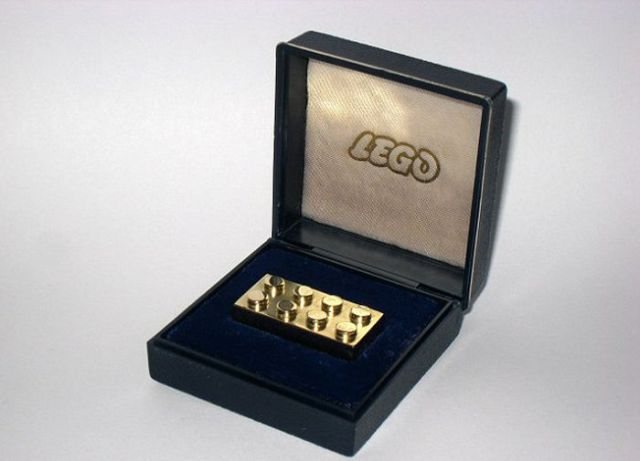 Most Expensive Toy: Gold Lego Brick