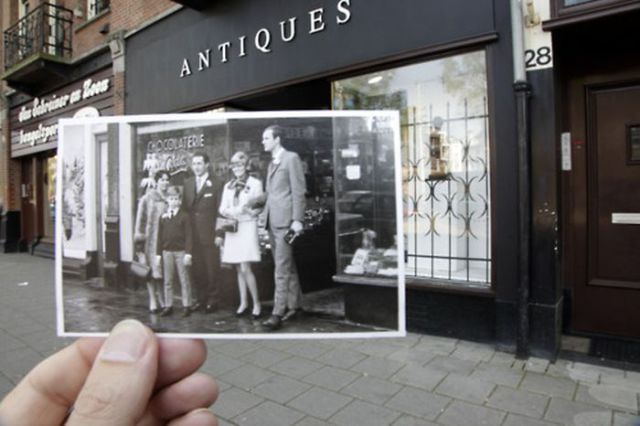 Past Meets Present in Great Photo Project