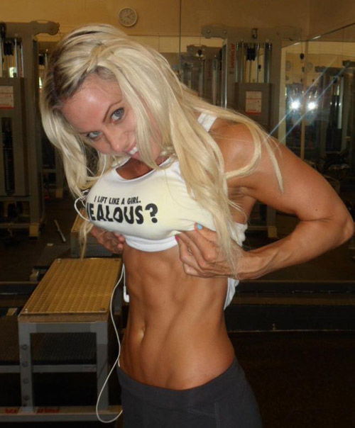 Fit Girls Work Hard to Look This Good