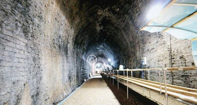 Abandoned Railroad Tunnel, in Wales, Has Hidden Secret