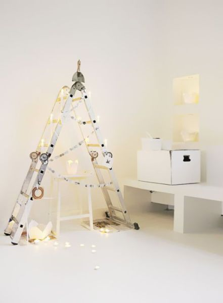 Creative, DIY Christmas Tree Concepts
