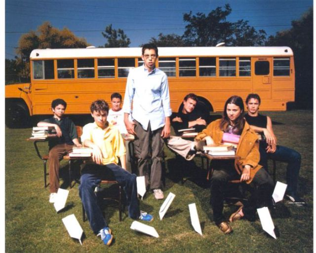 "On the Set of 90s TV Show, ""Freaks and Geeks"""