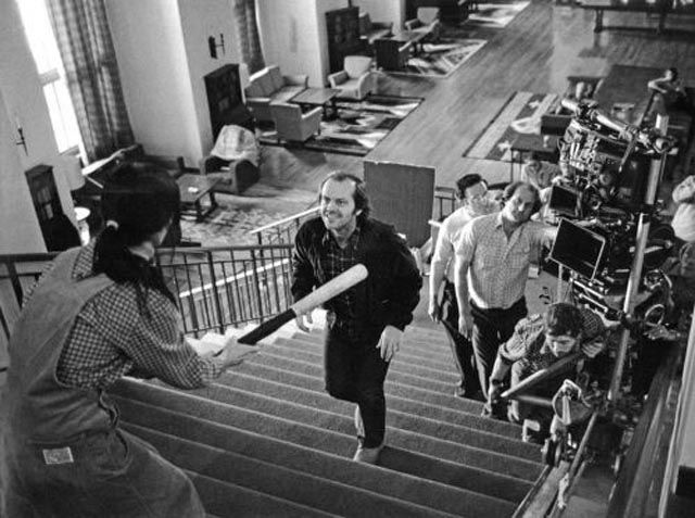 Set Photos from a Collection of Classic Films