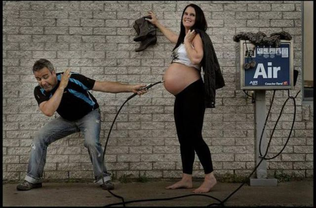 How Babies are Made: A Funny Photo Project