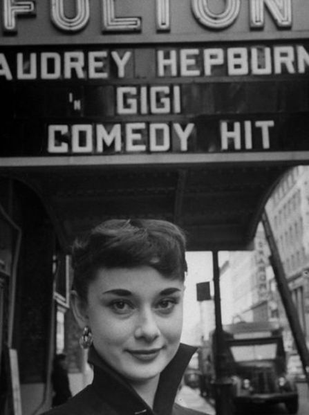 Captured in Time: A Glamorous Audrey Hepburn