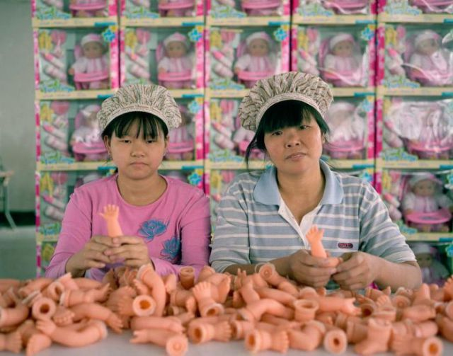 A Glimpse Inside Chinese Toy Factories