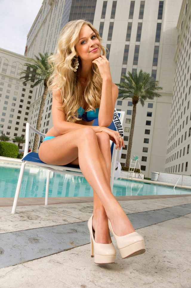 "Bikini Photoshoot of Beautiful ""Miss Universe 2012"" Contestants"