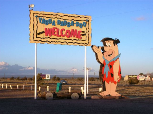 Neglected Flintstones Amusement Park Is Still a Tourist Attraction
