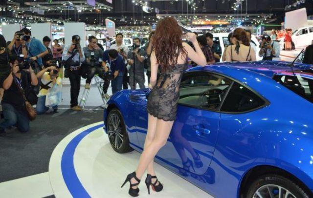 Ladies of the Thailand International Motor Expo 2012