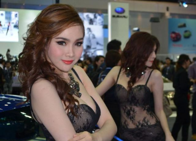 Ladies of the Thailand International Motor Expo 2012