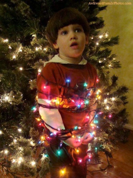 Why Kids Are Really Tiny, Christmas Grinches