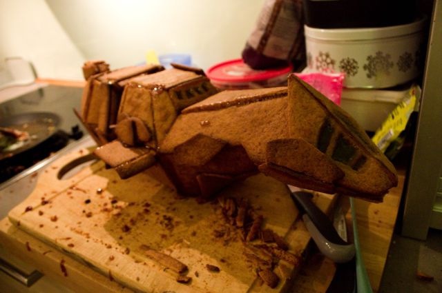Fun, Homemade Gingerbread, Spacewalker