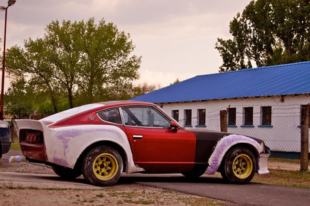 Neglected Datsun Is Converted Into a Superb, Drift Car