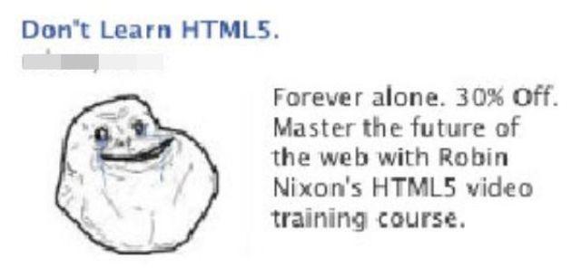 Bizarre Facebook Advertising