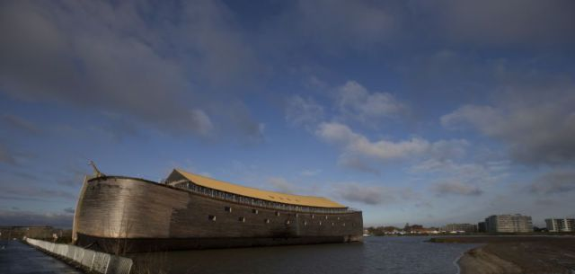 A Home-built Modern Day, Noah's Ark