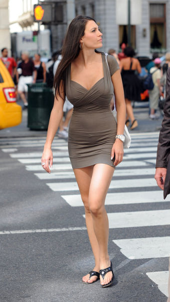Oh My, Those Tight Dresses. Part 10
