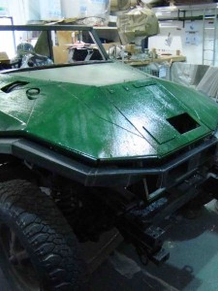 Self Constructed, Replica of Warthog's Tank from Halo Games