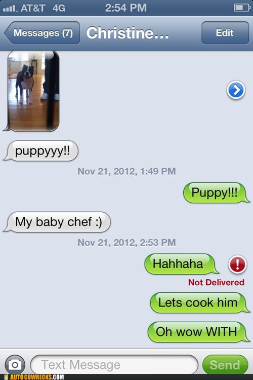 Hilarious Text Messages. Part 2