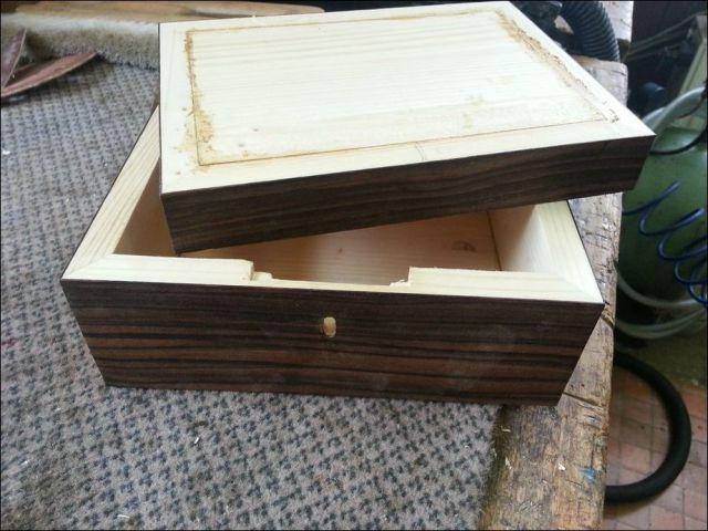 DIY Ornate, Wooden, Jewellery Box