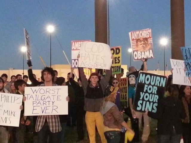 A Selection of Memorable 2012, Protest Signs