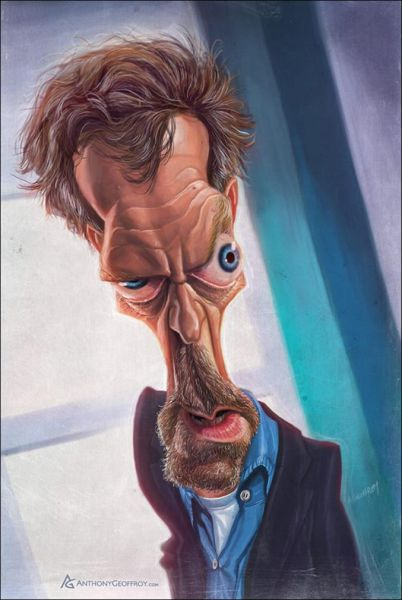 Original Celebrity Caricatures