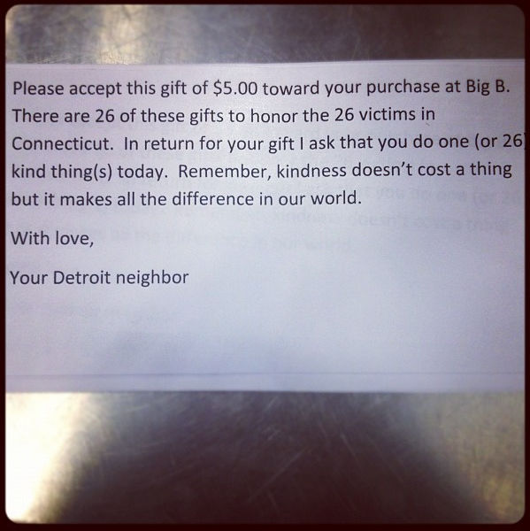 Because Kindness Doesn't Cost a Thing