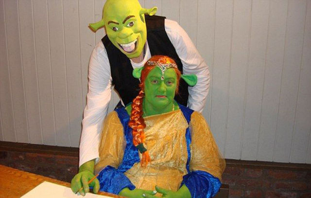 Couple Host a Shrek Inspired Wedding