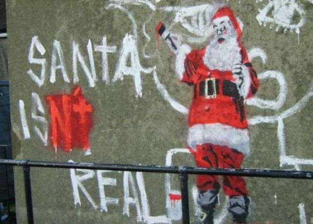 Christmas Is Saved By Graffiti Artist