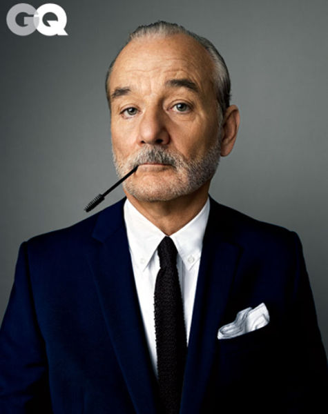 Funky, Sophisticated And Jaw-Droppingly Handsome, Bill Murray In GQ