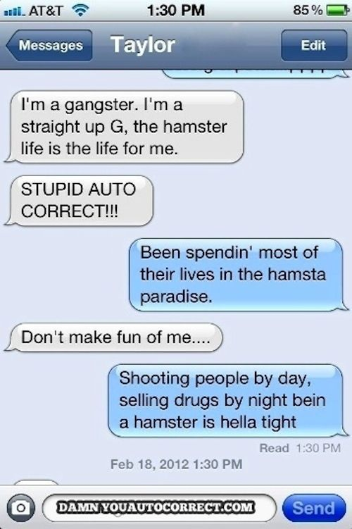 Funniest Autocorrect Fails of 2012
