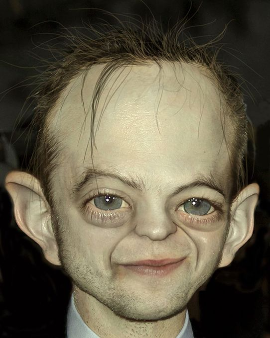 What You Get When You Cross Smeagol and a Celebrity