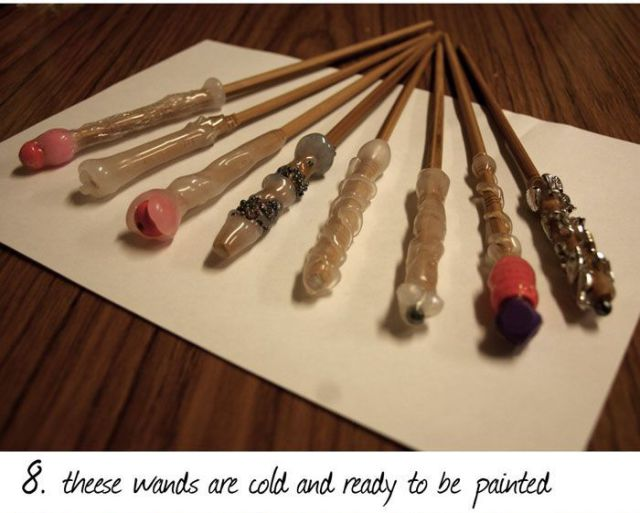 How to Make Harry Potter Style Wands