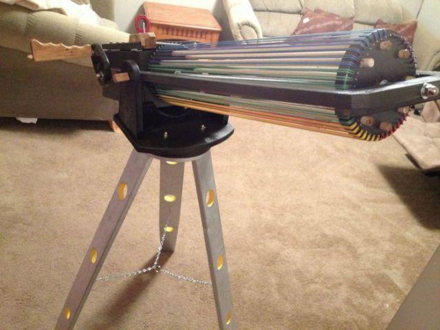 Battle-Ready Rubber Band Mini Gun