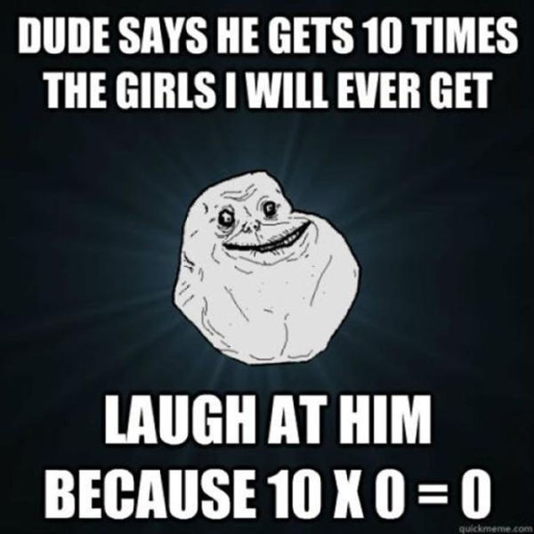 Unfortunately, Forever Alone. Part 3