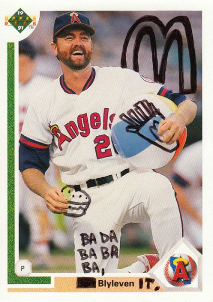 Famous Basball Cards Vandalized For Fun