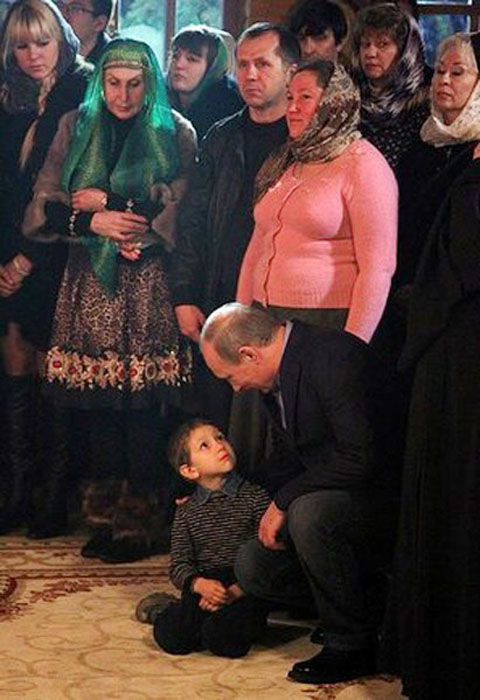 What Did Putin Say to the Boy?